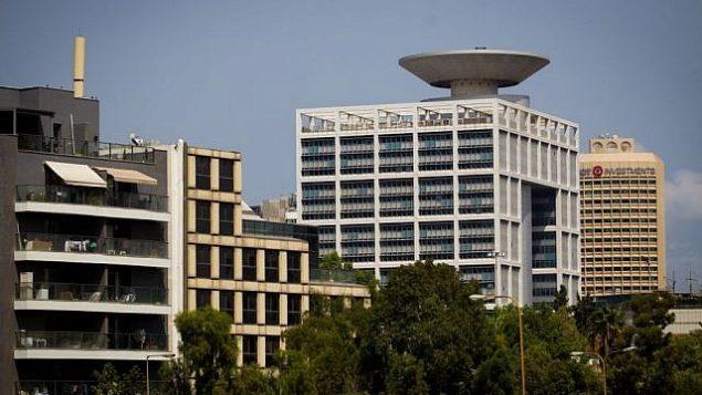 مبنى وزارة الدفاع في تل أبيب، 29 أغسطس، 2016. (Miriam Alster/Flash90)