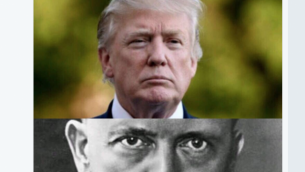 تغريدة فتح في تاريخ 14 ديسمبر 2017 تقارن الرئيس الأمريكي دونالد ترامب بأدولف هتلر. (Screenshot Twitter)