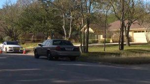 لقطة شاشة من فيديو يشتبه في أنه قتل انتحاري لرجل إسرائيلي وابنته في مقاطعة ترافيس، تكساس، 11 ديسمبر 2017. (YouTube)
