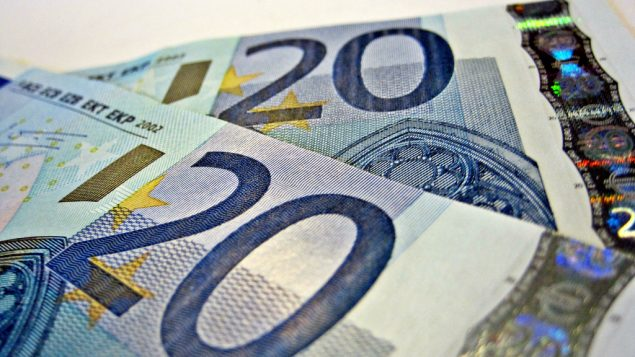 اوراق نقدية 20 يورو، (CC BY-SA Images Money, Flickr)