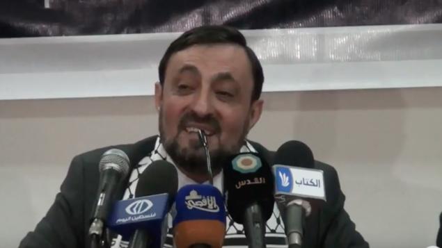 المسؤول الرفيع في حركة حماس عماد العلمي (Youtube)