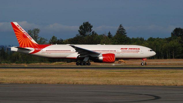 صورة توضيحية لطائرة تابعة لشركة الطيران الهندية (CC BY-SA MitRebuad, Flickr)