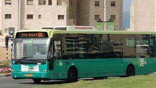 صورة توضيحية: حافلة إيغد للمواصلات (Effi Elians/Wikimedia/CC BY-SA 3.0)