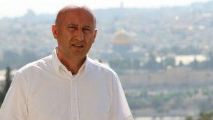 مجدي حلبي، صحفي اسرائيلي في صحيفة إيلاف العربية الصادرة من لندن (Courtesy)