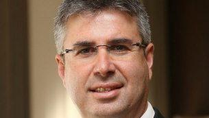 موشيه آشر، مدير مصلحة الضرائب الإسرائيلية (Courtesy)