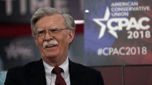 السفير الاميركي السابق لدى الامم المتحدة جون بولتون، 22 فبراير 2018 (ALEX WONG / GETTY IMAGES NORTH AMERICA / AFP)