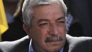 محمود العالول، عضو اللجنة المركزية في حركة فتح، 6 يناير، 2010. (Issam Rimawi/Flash90)