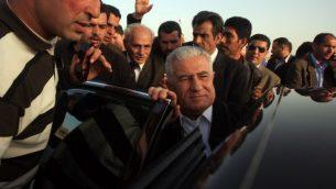 القيادي في حركة فتح عباس زكي، 1 ابريل 2010 (Issam Rimawi/Flash90)