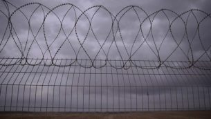 السياج الحدودي بين إسرائيل وغزة (Tomer Neuberg/Flash90)