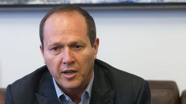 رئيس بلدية القدس نير بركات، 17 يوليو 2016 (Miriam Alster/Flash90)