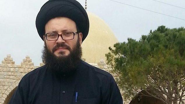 رجل الدين اللبناني محمد علي الحسيني. (Facebook image)