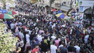 صورة توضيحية: الكشاف في شوارع رام الله يوما قبل عيد الاضحى، 11 سبتمبر 2016 (flash 90)