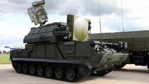 منظومة الدفاع الصاروخي 'تورآ' روسية الصنع (Vitaly V. Kuzmin/WikiMedia/CC BY-SA 4.0)