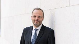 المبعوث الألماني الخاص المعني بمعاداة السامية فيليكس كلاين. (Courtesy German Interior Ministry)