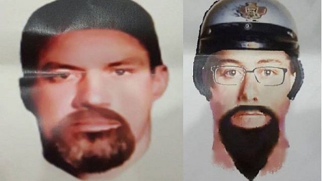 صورتان مفترضتان أصدرتهما الشرطة الوطنية الماليزية للمشتبه بهما في اغتيال خبير الصواريخ والعضو في حركة حماس في العاصمة الماليزية كوالالمبور، 23 أبريل، 2018. (Royal Malaysia Police)
