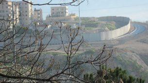 المنظر من التلة الفرنسية حيث يسكن الكاتب يوسي كلاين هاليفي، القدس. (Courtesy)