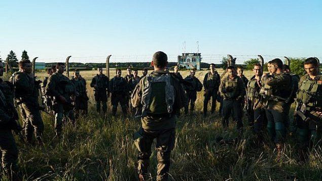 مظليون إسرائيليون يشاركون في مناورة 'الرد السريع' العسكرية بقيادة الولايات المتحدة في أوروبا، يونيو 2018.   (Israel Defense Forces)