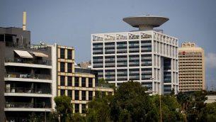 مبنى وزارة الدفاع في تل أبيب، 29 أغسطس 2016. (Miriam Alster / Flash90)