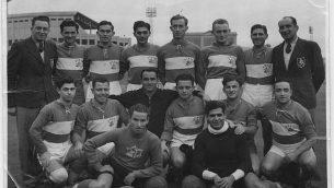 فريق مكابي تل أبيب في أستراليا، 1939. (CC BY-SA Avi Ginzburg، Wikimedia Commons)