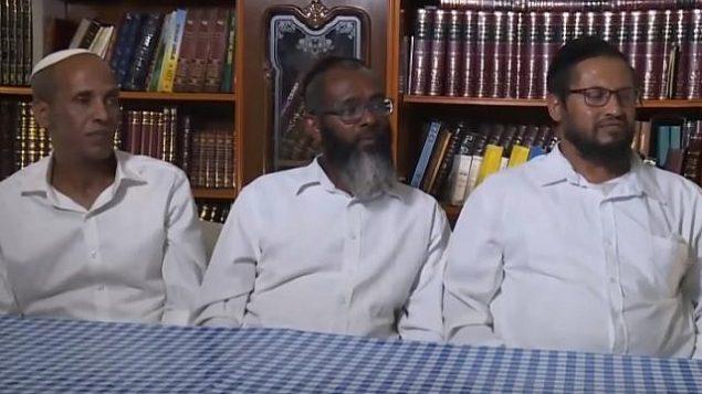 موظفو مصنع النبيذ باركان الذين نُقلوا من وظائفهم بسبب تساؤلات حول يهوديتهم. (screen capture: Kan)