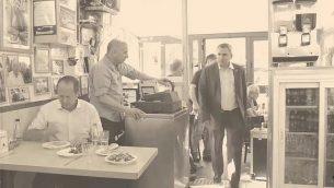 فيديو دعم رئيس بلدية القدس نير بركات لوزير شؤون القدس زئيف إلكين كبديل له (لقطة شاشة: Facebook)