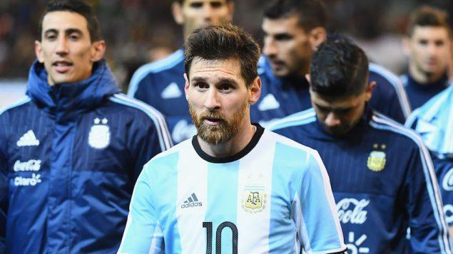 لاعب كرة القدم ليونيل ميسي خلال مباراة بين البرازيل والارجنتين في ملبورن، استراليا، 9 يونيو 2017 (Quinn Rooney/Getty Images via JTA)