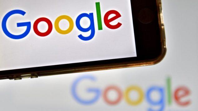 شعار شركة غوغل العملاقة للانترنت، 28 ديسمبر 2016 (AFP PHOTO / LOIC VENANCE)