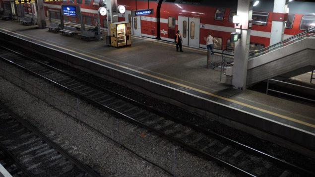 محطة القطارات 'سافيدور مركاز' في تل ابيب، 3 سبتمبر 2016 (Tomer Neuberg/Flash90)