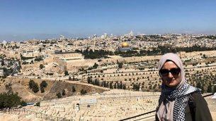 إبرو أوزكان، شابة تركية تم اعتقالها في إسرائيل بشبهة مساعدة حماس.  (Courtesy)