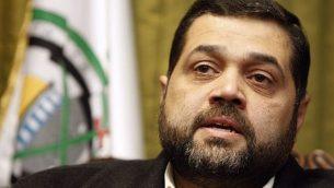 القيادي في حركة 'حماس' أسامة حمدان (AP/Bilal Hussein)