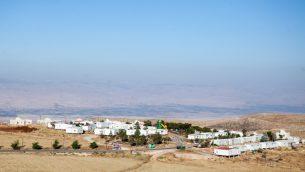 بؤرة متسبي كراميم الاستيطانية غير القانونية في الضفة الغربية، 5 يونيو 2012 (Noam Moskowitz/FLASH90)