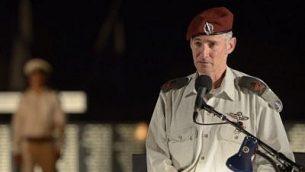 نائب رئيس هيئة اركان الجيش يئير غولان، اغسطس 2015 (Gefen Reznik/IDF Spokesperson)