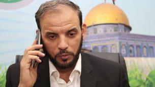 """المتحدث باسم حركة """"حماس"""" حسام بدران (Facebook image)"""