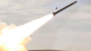صاروخ متطور اشترته وزارة الدفاع في 27 اغسطس 2018 (Israel Military Industries)