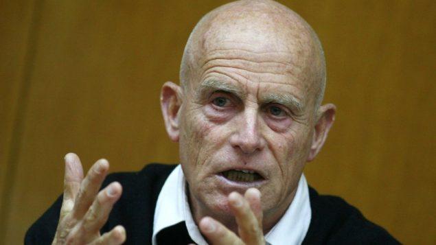 مدير الشاباك السابق عامي ايالون (Olivier Fitoussi/Flash90)