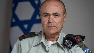 اللواء كميل ابو ركن، منسق النشاطات الحكومية في الاراضي (Courtesy)