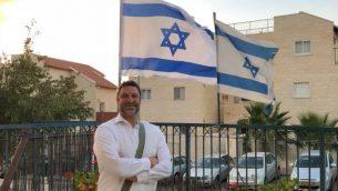 آري فولد، الذي قُتل طعنا على يد معتدي فلسطيني امام مجمع تجاري في الضفة الغربية في 16 سبتمبر 2018 (Facebook)