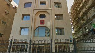 السفارة الروسية في شارع هيركون في تل ابيب (Google maps)
