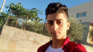 خليل الجبارين (17 عاما)، منفذ هجوم الطعن الذي أسفر عن مقتل إسرائيلي في مستوطنة في الضفة الغربية، 16 سبتمبر، 2018.  (Screenshot/Twitter)