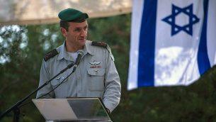 قائد المنطقة الجنوبية في الجيش الإسرائيلي، هرتسي هليفي، في صورة غير مؤرخة. (الجيش الإسرائيلي)