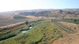 منظر لنهر الأردن، نهاريام، جزيرة السلام (Shmuel Bar-Am)