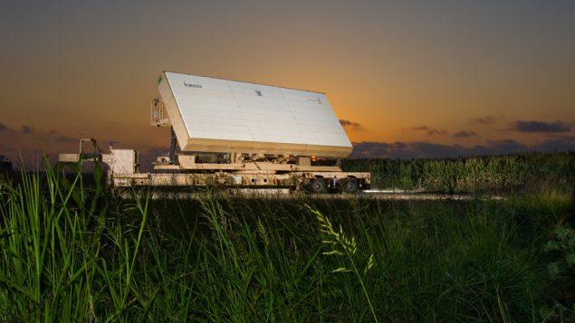 نظام الرادار 'الصنوبر الاخضر'، الذي تصنعه شركة ELTA Systems، التابعة لشركة الصناعات الجوية الإسرائيلية الحكومية (ELTA Systems Ltd.)