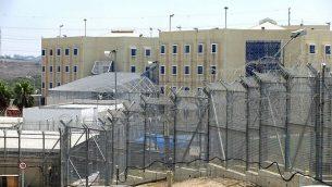 من الأرشيف: مجمع سجن هداريم، 1 أغسطس، 2012. (Moshe Shai/Flash90)