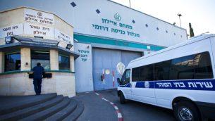 سجن ايالون في الرملة، 29 يوليو 2013 (Moshe Shai/FLASH90)