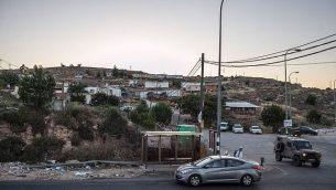 صورة لمستوطنة غيفعات أساف، الواقعة بالقرب من مستوطنة بيت إيل في الضفة الغربية، 5 يونيو، 2012. (photo credit: Noam Moskowitz/FLASH90)