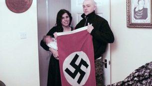 الحكم على آدم توماس وكلوديا باتاتاس النازيين الجدد الذان أطلقا على طفلهم الاسم هتلر. (West Midlands Police via BBC)