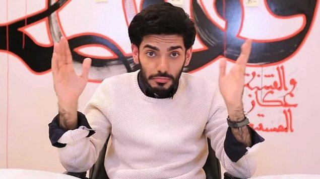 الناشط السعودي المقيم في كويبك الكندية، عمر عبد العزيز. (Screen capture: YouTube)
