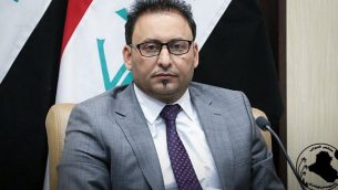 النائب الأول لرئيس البرلمان العراقي حسن كريم الكعبي. (موقع البرلمان العراقي)
