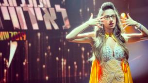 شفيطا، النجمة الصاعدة في برنامج 'هكوخاف هبا'، الذي يختار ممثل إسرائيل في مسابقة الأغنية الأوروبية 'يوروفيجن' ( Courtesy Shefita)