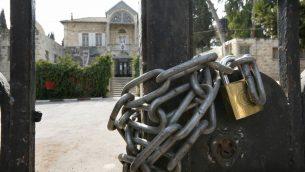 بيت الشرق في القدس الشرقية، 14 اكتوبر 2007 (Nati Shohat/Flash90)